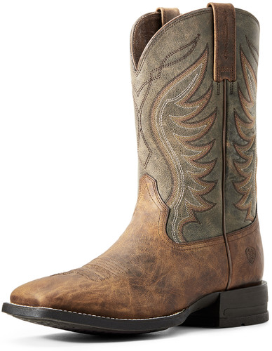 Ariat Men's Amos Cowboy Boots - Brown