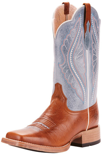 Ariat Women's Square Toe Primetime Cowgirl Boot - Brown