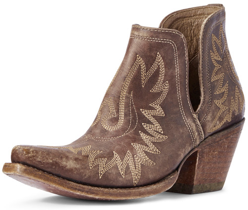 Ariat Women's Dixon Ankle Boots - Distressed Brown
