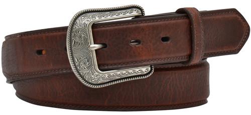 """3D belt Co. Men's 1 1/2"""" Overlay Belt - Dark Brown"""