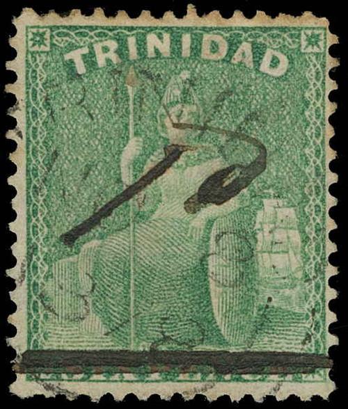Trinidad Scott 67b Gibbons 103 Used Stamp