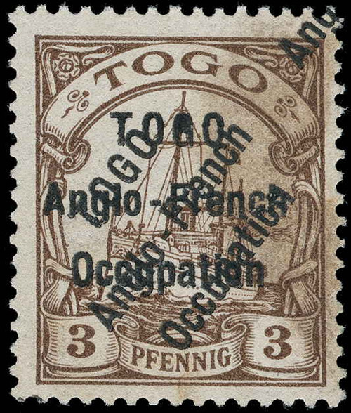 Togo Scott 35v Gibbons 1v Mint Stamp