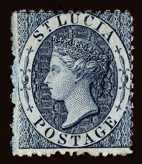 St. Lucia Scott 5 Gibbons 7 Mint Stamp (1)