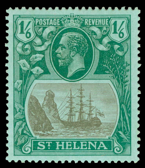 St. Helena Scott 96V Gibbons 93b Never Hinged Stamp