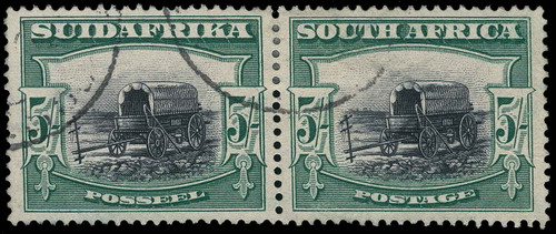 South Africa Scott 31c Gibbons 38a Used Stamp