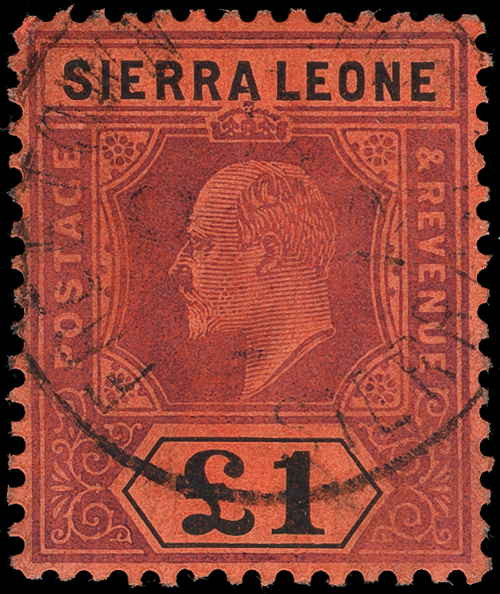 Sierra Leone Scott 90-102 Gibbons 99-111 Used Set of Stamps