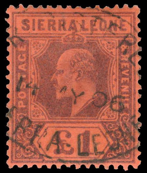 Sierra Leone Scott 76 Gibbons 85 Used Stamp