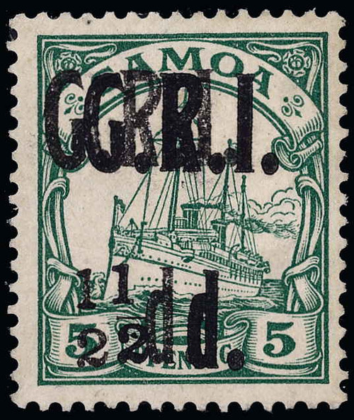 Samoa Scott 102a Gibbons 102a Mint Stamp