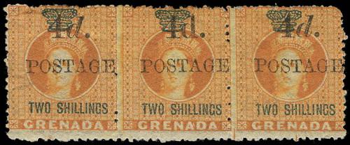 Grenada Scott 33 Gibbons 41a Mint Stamp