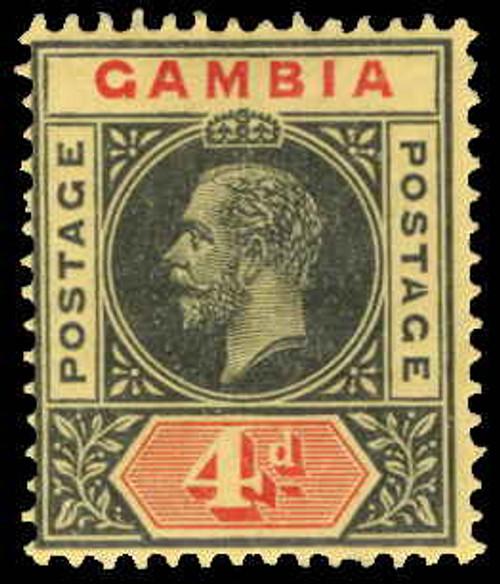 Gambia Scott 76v Gibbons 92d Mint Stamp