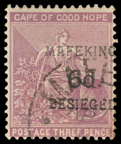 Cape of Good Hope / Mafeking Scott 165 Gibbons 4 Used Stamp
