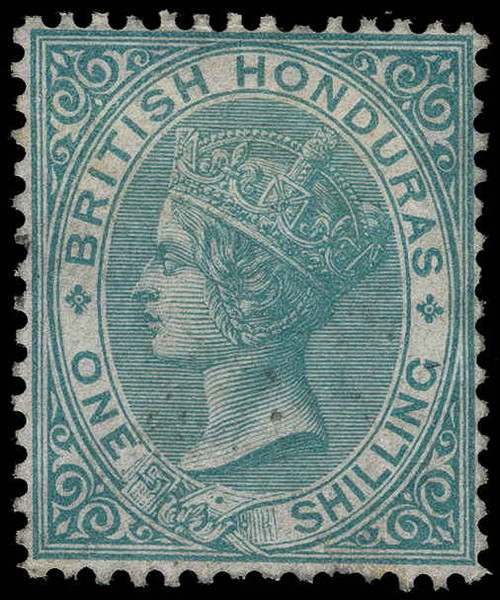 British Honduras Scott 3 Gibbons 4 Mint Stamp