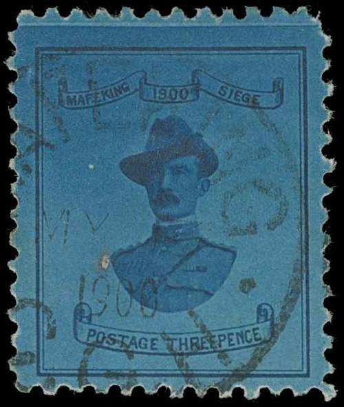 Cape of Good Hope / Mafeking Scott 179 Variety Gibbons 20 Used Stamp (1)