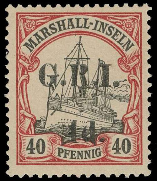 New Britain Scott 36 Gibbons 56 Mint Stamp
