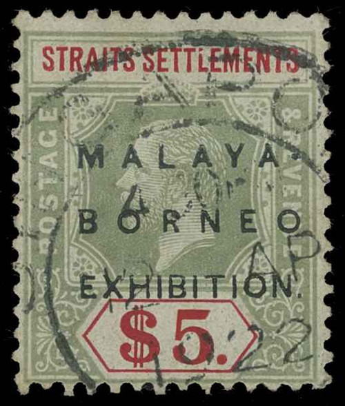 Straits Settlements Scott 167d Gibbons 249 Used Stamp