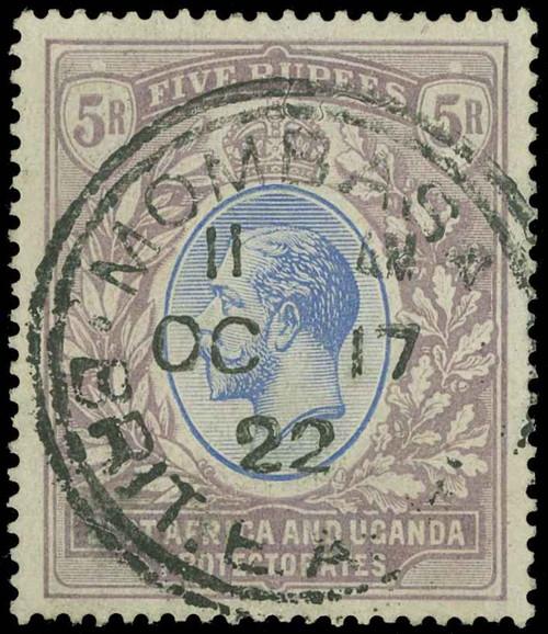 Kenya, Uganda and Tanganyika Scott 10 Gibbons 74 Used Stamp