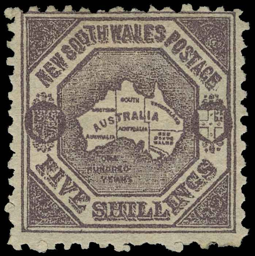 Australia / New South Wales Scott 85 Gibbons 261a Mint Stamp