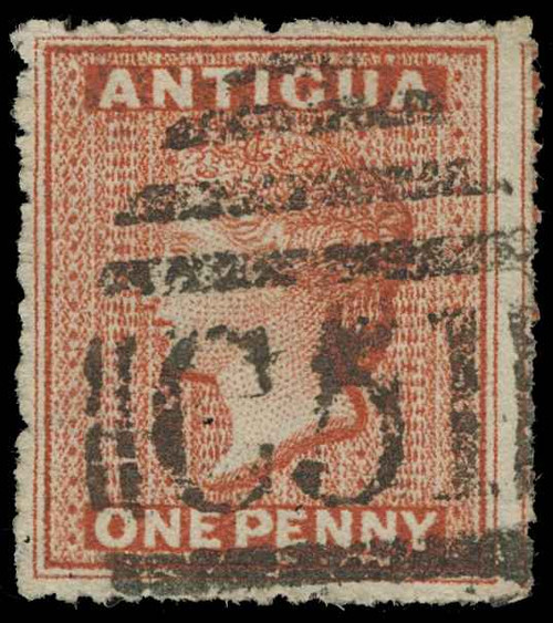 Antigua Scott 3 Gibbons 7 Used Stamp