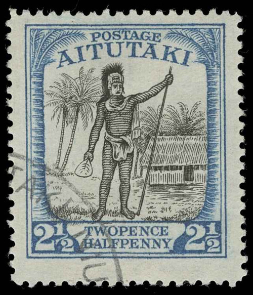 Aitutaki Scott 36 Gibbons 32 Used Stamp