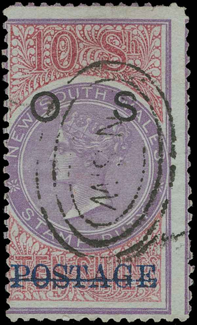 Australia / New South Wales Scott O21 Gibbons O36 Used Stamp