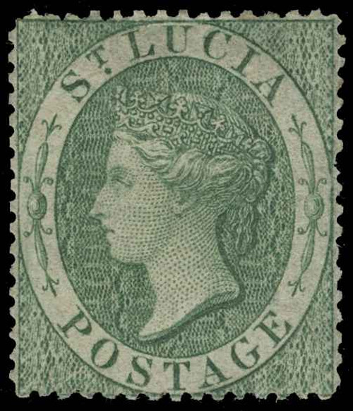 St. Lucia Scott 1-3 Gibbons 1-3 Mint Set of Stamps