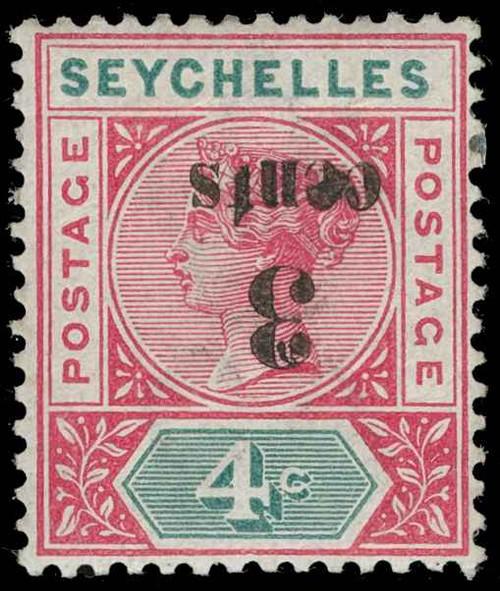 Seychelles Scott 22a Gibbons 15a Mint Stamp