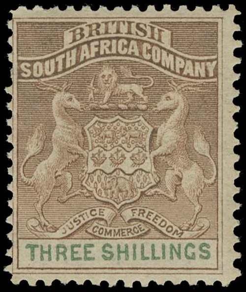 Rhodesia Scott 1-15 Gibbons 1-26 Mint Set of Stamps