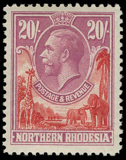 Northern Rhodesia Scott 1-17 Gibbons 1-17 Mint Set of Stamps