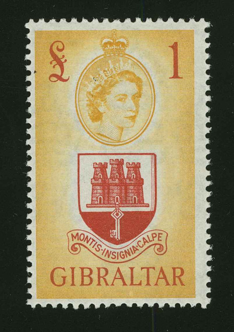 Gibraltar Scott 132-145 Gibbons 145-158 Mint Set of Stamps