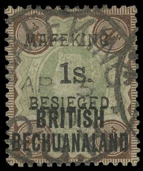 Cape of Good Hope / Mafeking Scott 171-172 Gibbons 10-11 Used Set of Stamps
