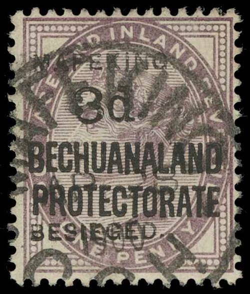 Cape of Good Hope / Mafeking Scott 167-170 Gibbons 6-9 Used Set of Stamps
