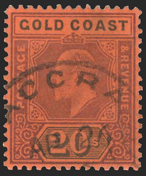 Gold Coast Scott 38-48 Gibbons 38-48 Used Set of Stamps