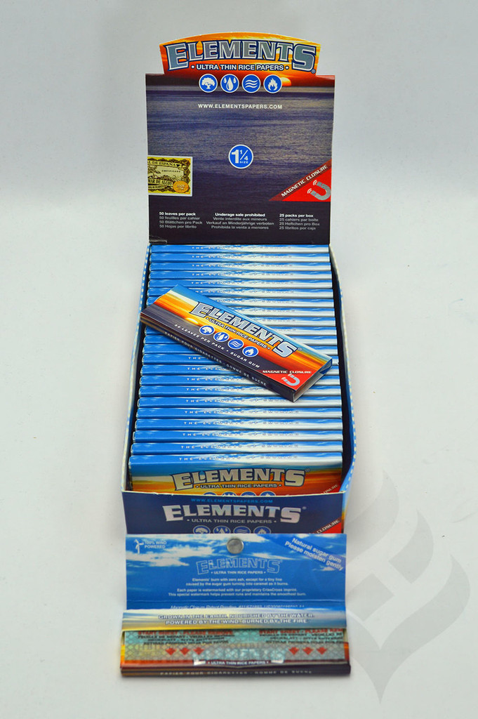 """Elements  1 1/4""""  Rolling Papers"""