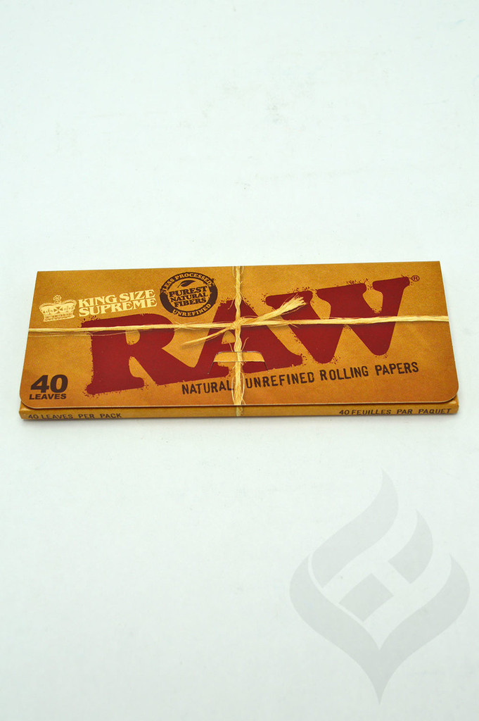 RAW King Size Supreme Rolling Papers