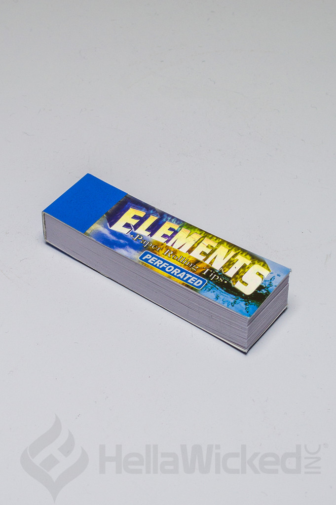 Elements Perforated Rolling Tips 50pk