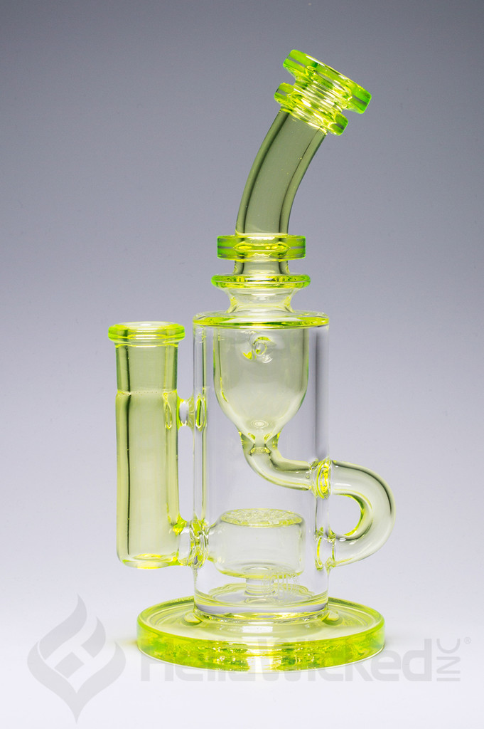 FatBoy Glass Slyrm Klein Recycler Rig side view