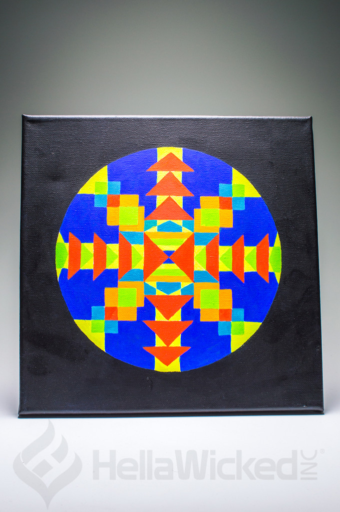 Sacred Geometry Canvas #2