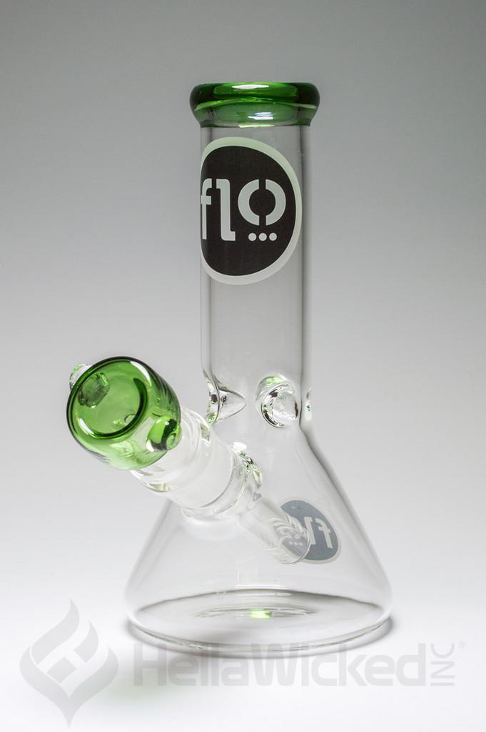 Flo Mini Beaker - Green Black