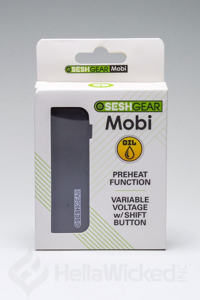 SeshGear Mobi Vape - Black in Box