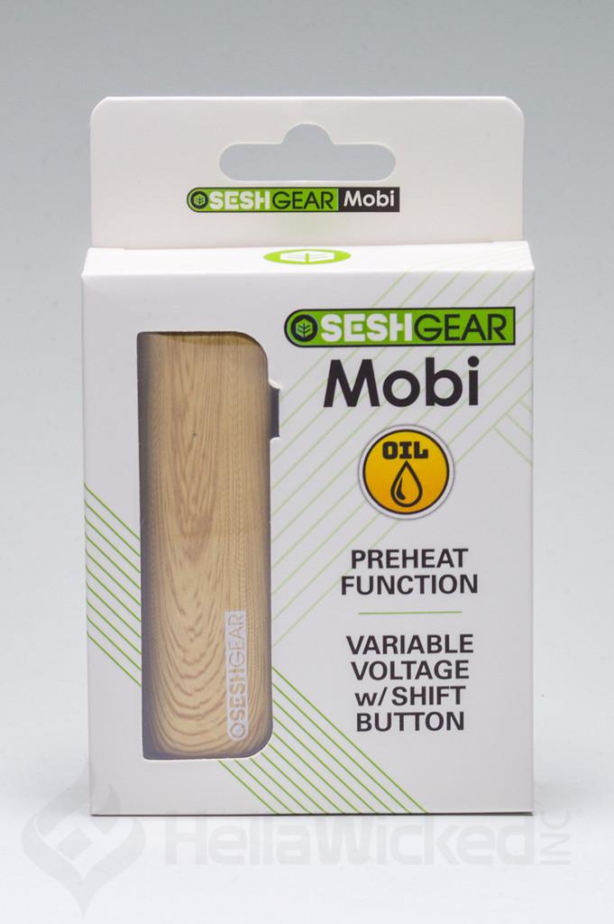 SeshGear Mobi Vape - Wood Grain in Boc