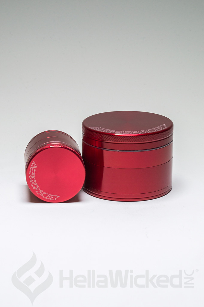 Aerospaced Grinder - Red Group View