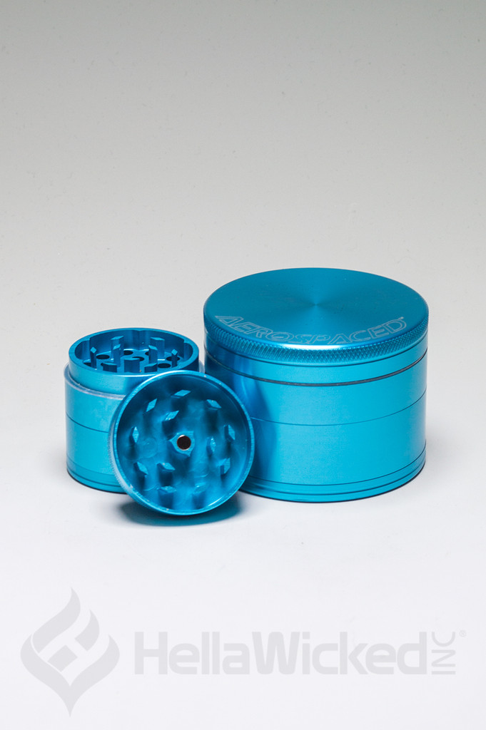 Aerospaced Grinder - Turquoise Group View