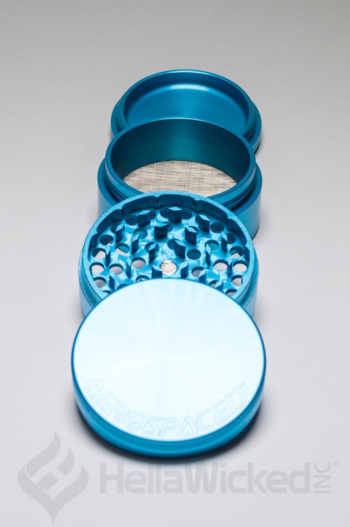 Aerospaced Grinder - Turquoise Large