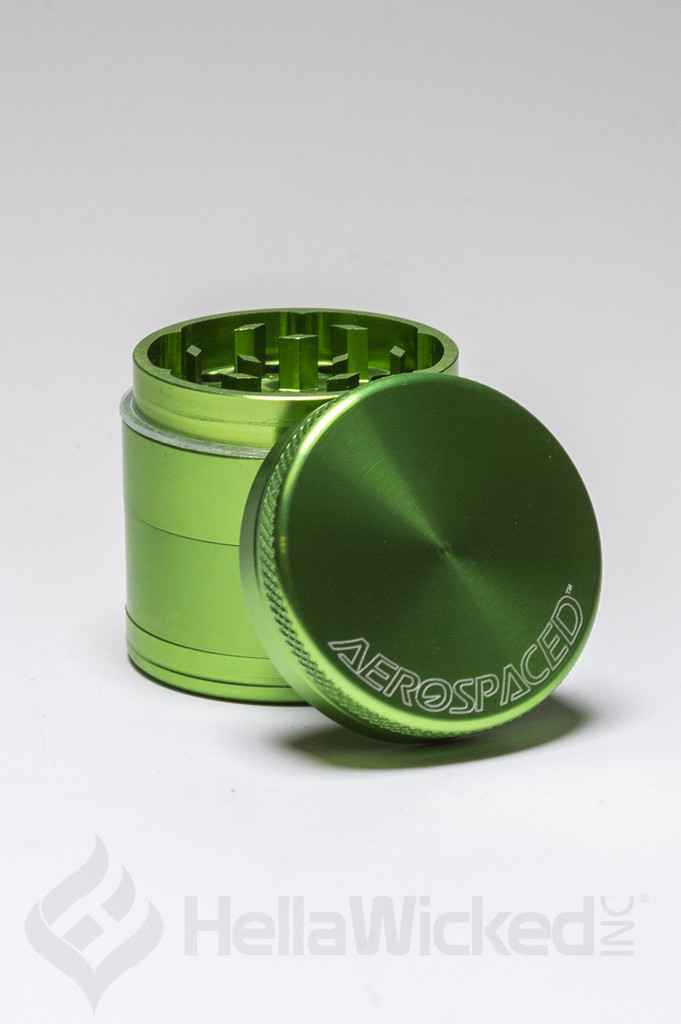 Aerospaced 4 Piece Grinder - Sea Green