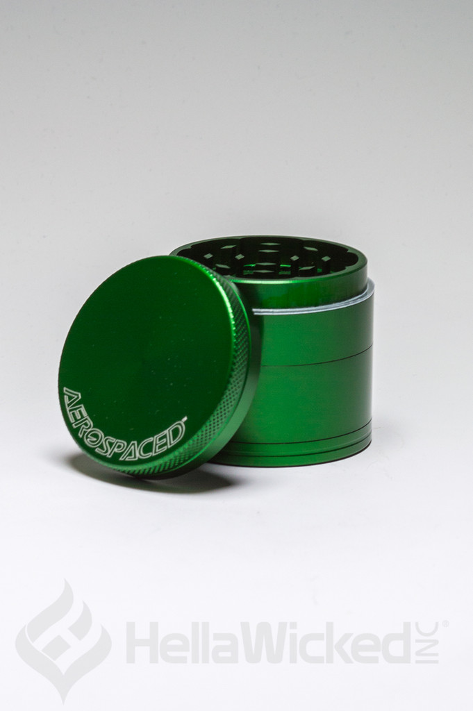 Aerospaced 4 Piece Grinder - Green