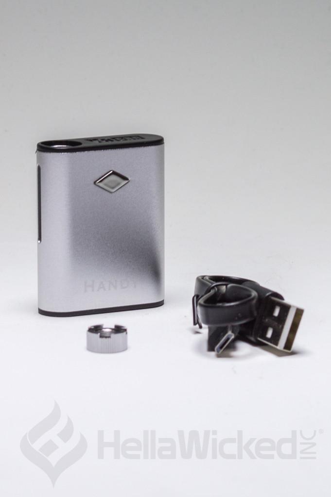 Yocan Handy 510 Thread Vape - Silver