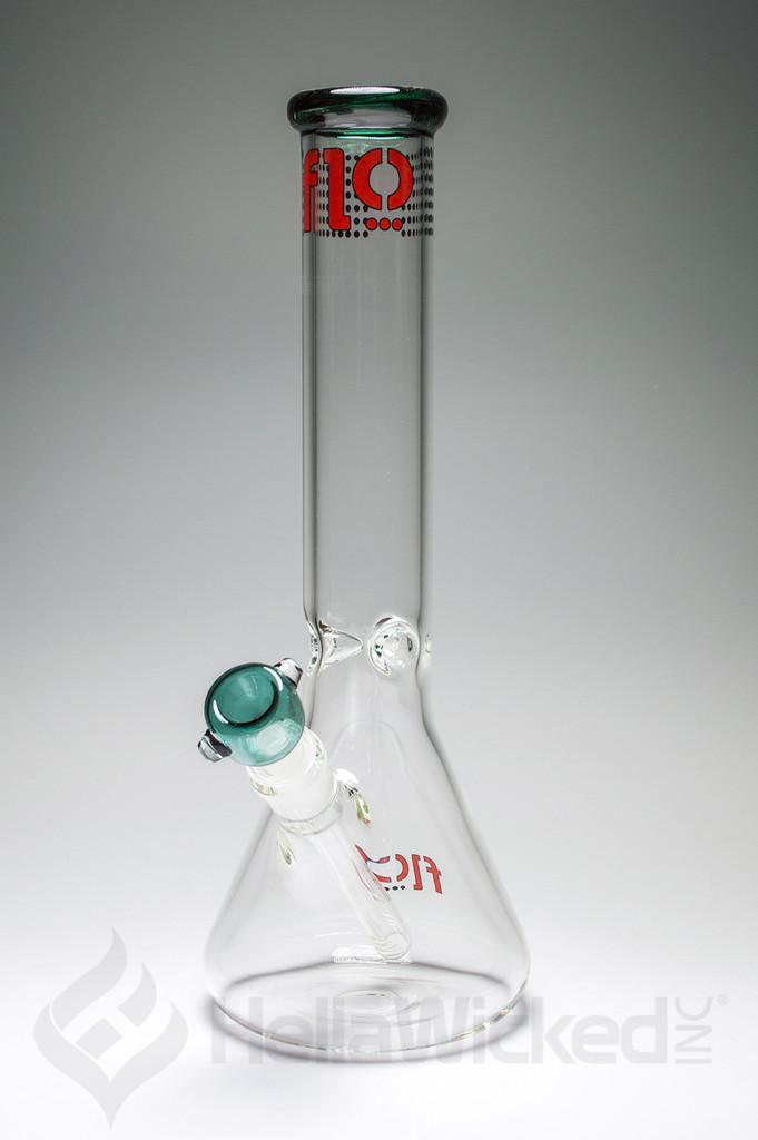 Flo Glass 50mil Beaker - Turquoise