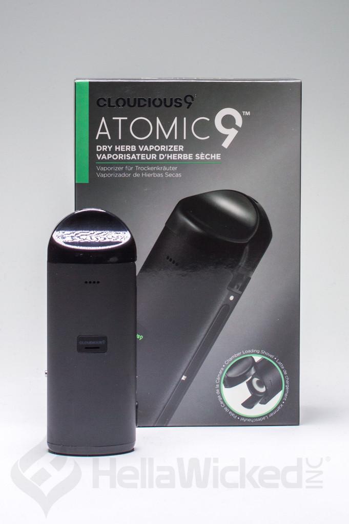 Atmoic9 Dry Herb Vaporizer