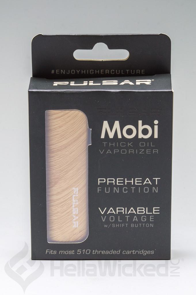 Pulsar Mobi Vape - Wood Grain Box