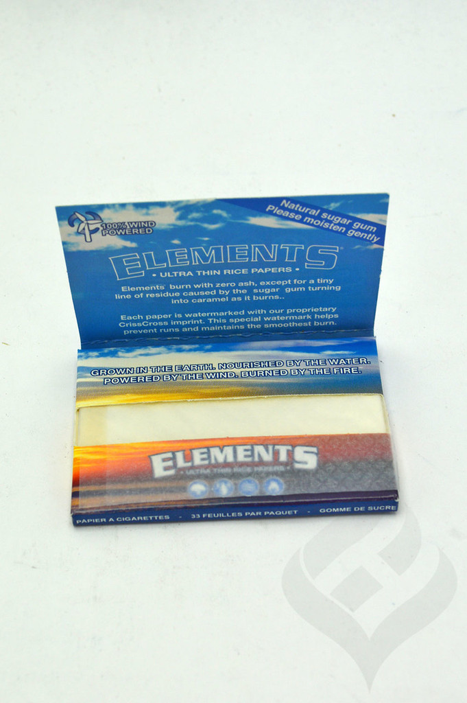 """Elements  1 1/2""""  Rolling Papers"""